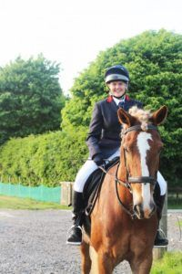 laura & boots - dressage eve