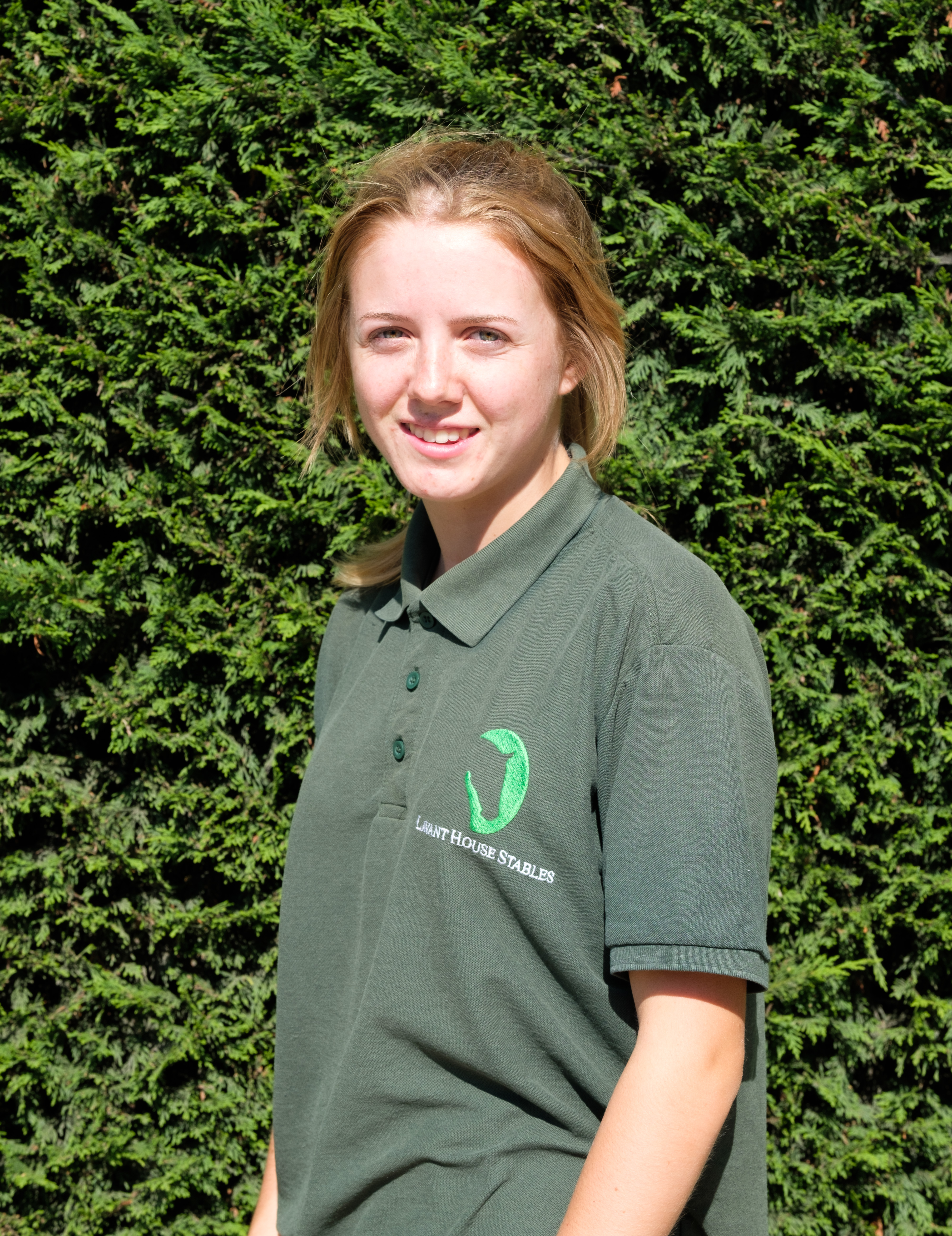Laura Davies, Trainee instructor/yard assistant